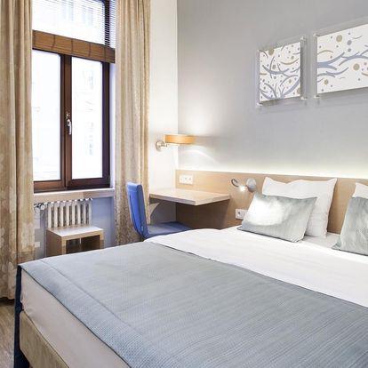 Moderní hotel v centru Prahy se snídaněmi