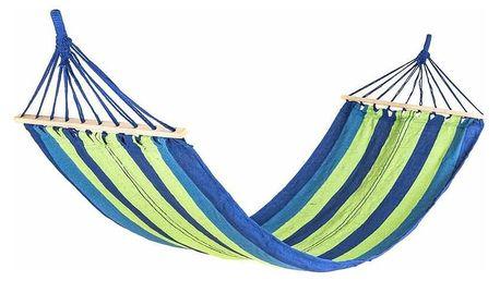 Happy Green Závěsné houpací lehátko 200 x 80 cm, modrá