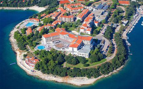 Chorvatsko - Pula na 4-15 dnů, snídaně v ceně