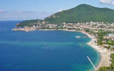 Černá Hora - Budvanská riviéra na 7-15 dnů
