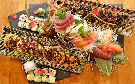 Degustační set lahodných sushi rolek pro 2 osoby