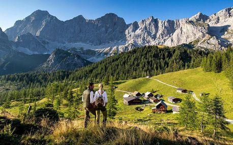Pobyt v rakouských Alpách s jídlem i saunami