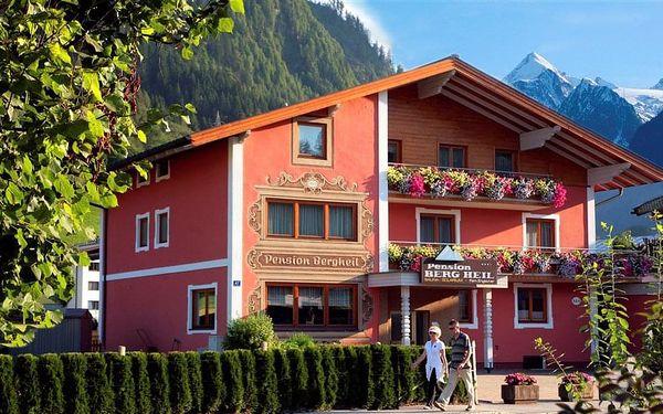 Pension BERGHEIL, Rakousko, Salcbursko, Kaprun, Salcbursko, vlastní doprava, snídaně v ceně3