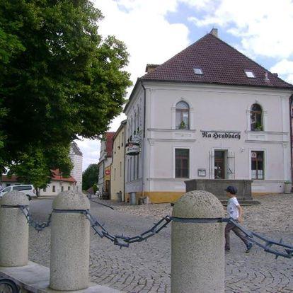 Jižní Čechy: Pension Na Hradbach