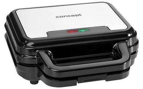 Concept SV3060 sendvičovač s výměnnými deskami