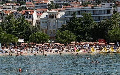 Chorvatsko - Crikvenica na 4-15 dnů, snídaně v ceně