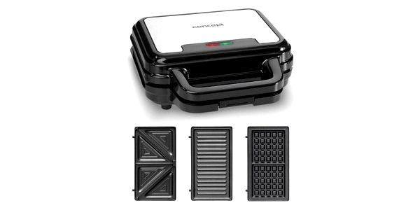 Concept SV3060 sendvičovač s výměnnými deskami2