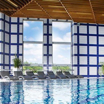 4* hotel u Pražského hradu se snídaní a bazénem