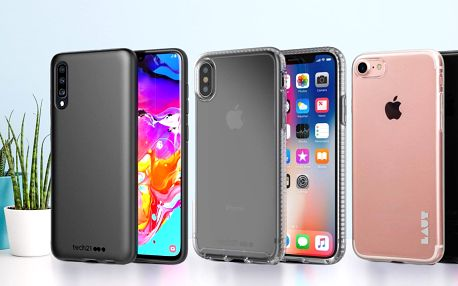 Obaly na telefony: tmavé, barevné i průhledné