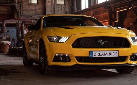 Zážitková jízda včetně paliva v nadupaném Fordu Mustang GT