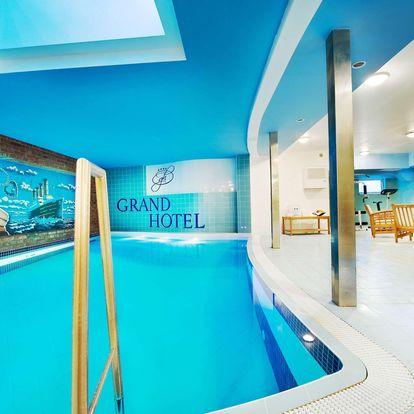 Grand Hotel Třebíč*** v historickém centru s polopenzí a bazénem