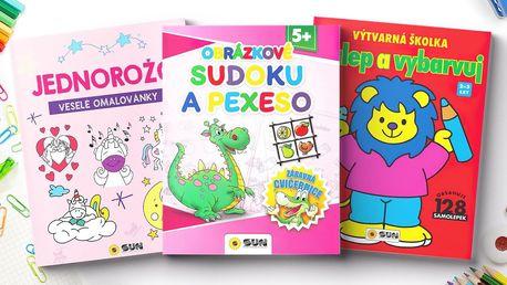 Zábavné omalovánky i obrázkové sudoku pro děti