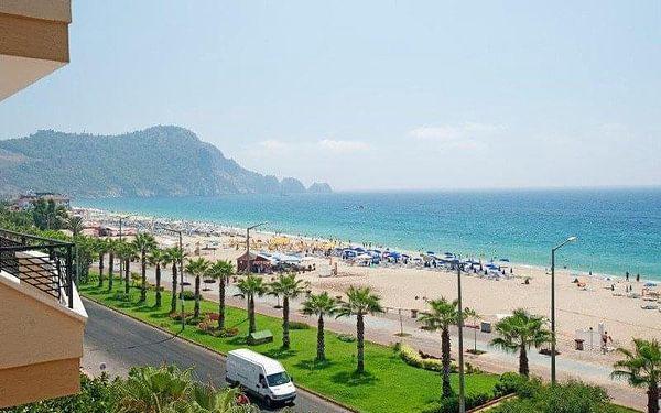 Kleopatra Beach, Alanya, Turecko, Alanya, letecky, all inclusive2