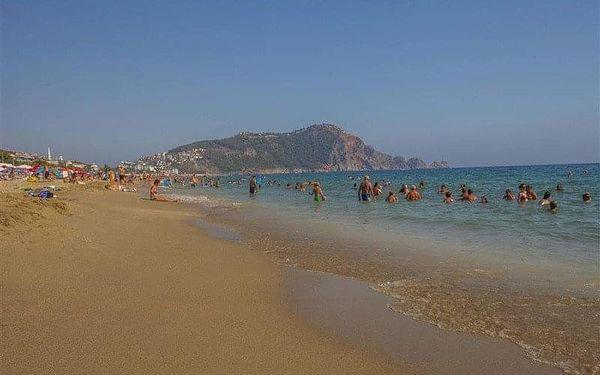 Kleopatra Beach, Alanya, Turecko, Alanya, letecky, all inclusive5