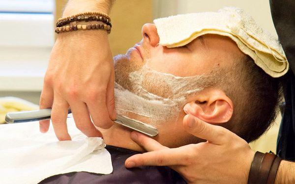 Střih a péče v barber shopu pro vás i pro syna