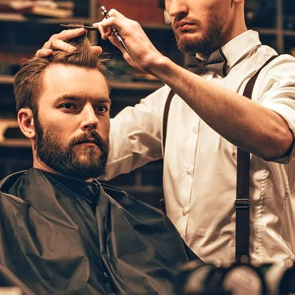 Holení a barber střih pro pány i jejich syny