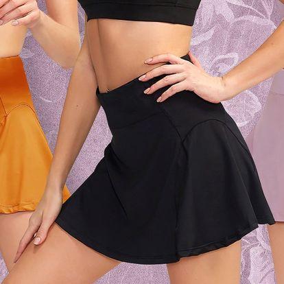 Sportovní sukně s vnitřními elastickými šortkami