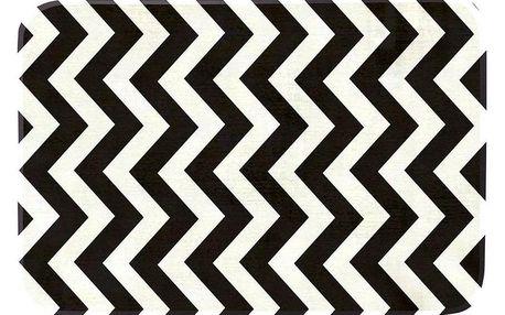 Domarex Kobereček z paměťové pěny Noir and Blanc černobílá, 50 x 80 cm