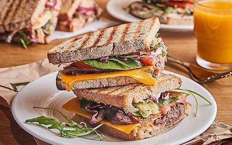 Prémiový sendvič nebo velký salát z bistra DELMART