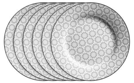 Mäser Sada dezertních talířů ORNATE 20,5 cm, 6 ks