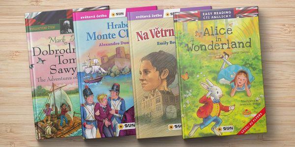 Světová četba pro školáky vč. anglických verzí