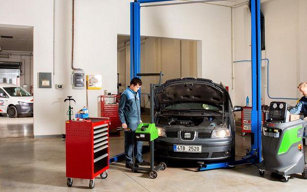 Kompletní měření a seřízení geometrie vozidla, dezinfekce vozidla ozónem3