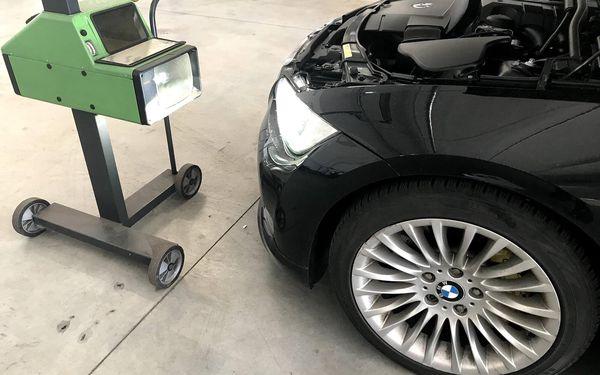 Kompletní měření a seřízení geometrie vozidla, dezinfekce vozidla ozónem5