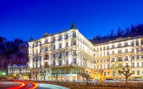 Karlovy Vary ve vyhlášeném Grandhotelu Pupp ***** s neomezeným wellness, relaxačními procedurami a snídaněmi