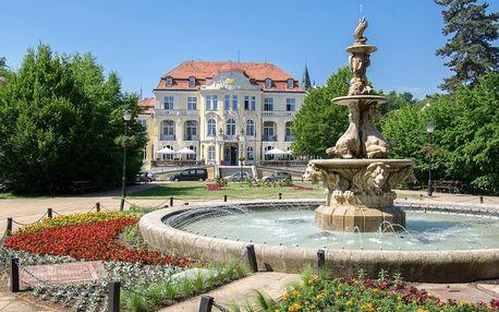 Lázeňské město Teplice: pobyt se snídaní a sektem