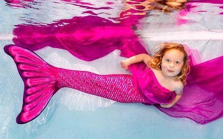 Focení v kostýmu mořské panny + vytištěné fotky