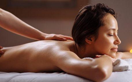 Thajská masáž zad a šíje či reflexní masáž nohou
