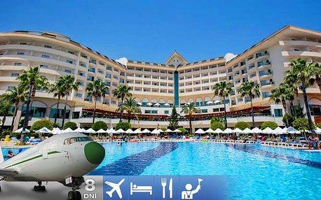 Turecko - Alanya letecky na 8-15 dnů, all inclusive