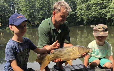 Chyť a pusť: celý den sportovního rybolovu