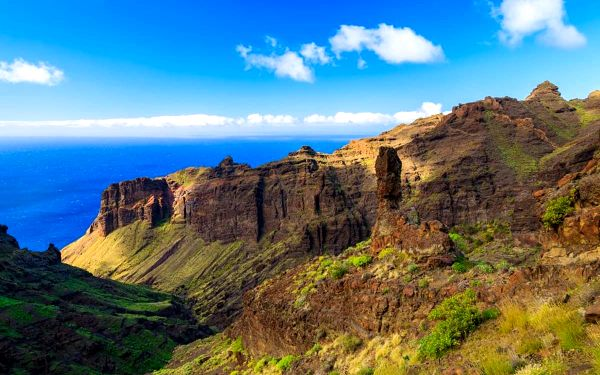 Pěší turistika na ostrově La Gomera, KANÁRSKÉ OSTROVY, letecky, snídaně v ceně4