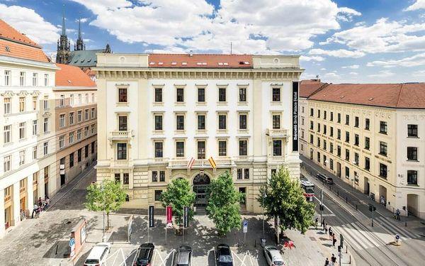 Exklusivní pobyt v 5* hotelu v centru Brna včetně sauny a fitness 4 dny / 3 noci, 2 os., snídaně3