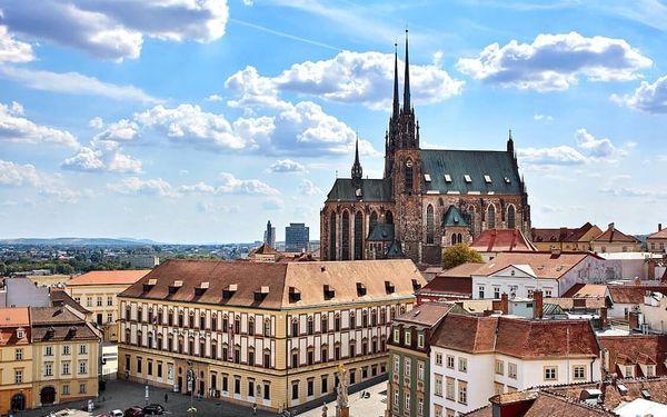 Exklusivní pobyt v 5* hotelu v centru Brna včetně sauny a fitness 4 dny / 3 noci, 2 os., snídaně5