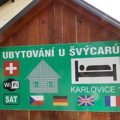 Český ráj: Ubytovani U Švýcarů