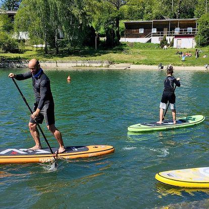 Zapůjčení paddleboardu na 2 hodiny pro 1 i 2 os.