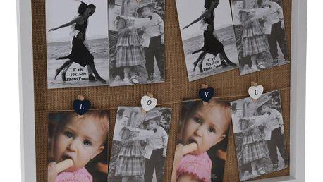 Závěsný fotorámeček Memories, 51 x 43 x 3 cm