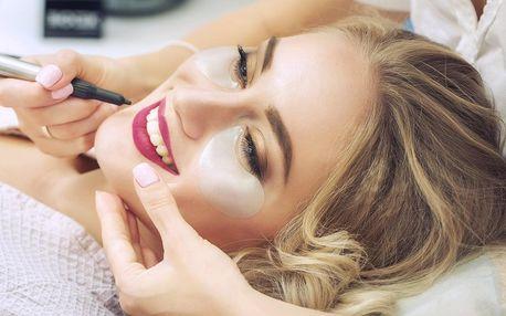 Permanentní make-up: oční linky, obočí nebo rty