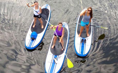 Hurá na vodu: 3 h zábavy na paddleboardu pro 1 osobu
