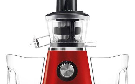 Sencor SSJ 4042RD Šnekový odšťavňovač, červená
