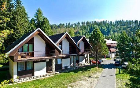 Výhodný pobyt přímo na Štrbském Plese - Bungalovy FIS Economy s wellness