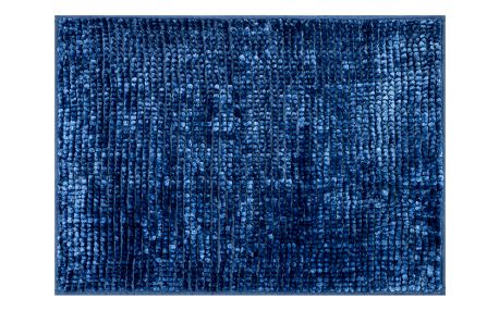 AmeliaHome Koupelnová předložka Bati tmavě modrá, 60 x 90 cm
