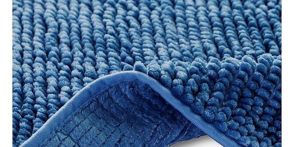 AmeliaHome Koupelnová předložka Bati tmavě modrá, 60 x 90 cm2