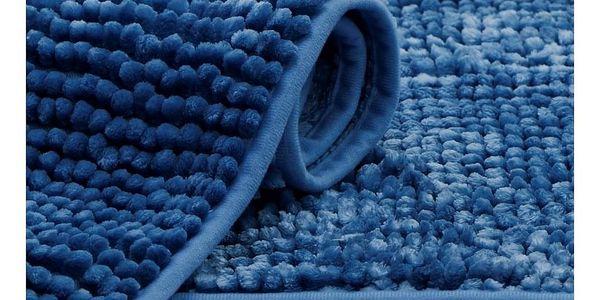 AmeliaHome Koupelnová předložka Bati tmavě modrá, 60 x 90 cm3
