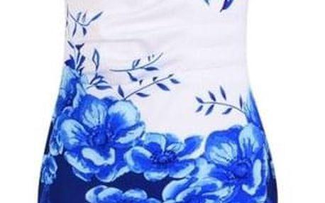 Dámské šaty Lyanna 9115 Modrá-velikost č. 5 - dodání do 2 dnů