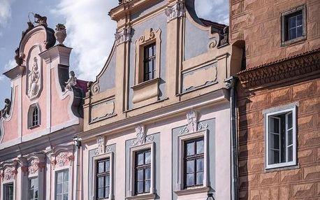 Ubytujte se na historickém náměstí v Telči zapsané na seznamu UNESCO