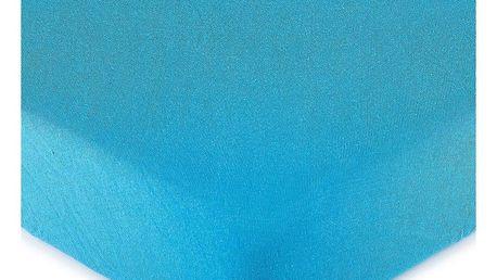 4Home jersey prostěradlo tmavě modrá, 160 x 200 cm