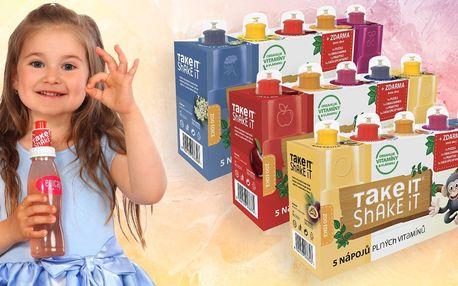 15 ovocných nápojů Take it Shake it + dárečky
